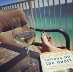 """First real """"family vacation"""" last fall lent to some good reading time. Do not be deceived - this is not my everyday!"""